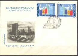 1992. Moldova - Member Of UNO, FDC, Mint/** - Moldavie
