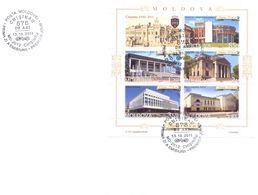 2011. Moldova, 575y Of Kishinev, Capital, FDC With S/s, Mint/** - Moldavie