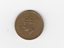 Sri Lanka Ceylan Ceylon 50 Cents 1951 King Georges - Sri Lanka