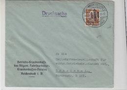 2 Hübsche Briefe Aus REICHENBACH Mit Sonderstempel - Briefe U. Dokumente