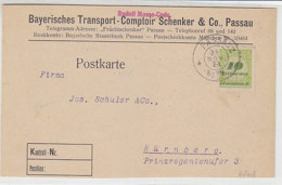 Fa.-Karte Aus PASSAU 28.11.23 - Deutschland