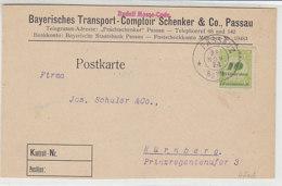 Fa.-Karte Aus PASSAU 28.11.23 - Allemagne