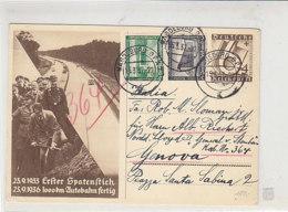 P263 Mit 635, 636 Von MAGDEBUURG 15.3.37 Nach Genua/Italien Norddeutscher Lloyd GENERAL V. STEUBEN ... - Deutschland