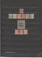 11 TIMBRES LEVANT OBLITERES & NEUF* DE 1886 & 1902    Cote : 13,60 € - Timbres