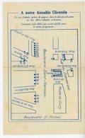 1942 CLUNY-PALACE PLAN D'EVACUATION EN CAS DE BOMBARDEMENT SUR PROGRAMME DU 29 AVRIL AU 5 MAI 1942 71 BLD ST GERMAIN - Documents Historiques