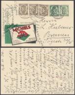 BELGIQUE EP PUBLIBEL 233 COB 420 X3+425 DE BRUXELLES 1936 VERS ALLEMAGNE (3G38003) DC-1637 - Enteros Postales