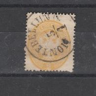 L.u.V. Mi. Nr. 14, Schön Gest. MONTEBELLUNA, Mi. 150,-- - 1850-1918 Impero