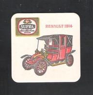Bierviltje - Sous-bock - Bierdeckel - SUPRA - CHEVALIER MARIN MECHELEN - RENAULT 1914  (B 1068) - Sous-bocks
