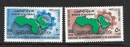 KOWEIT 1966 CONFERENCE DES PAYS ARABES POUR LE DEVELOPPEMENT   YVERT N°301/02  NEUF MNH** - Koweït