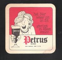Bierviltjes - Sous-bock - Bierdeckel  PETRUS  (B 064) - Sotto-boccale