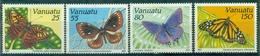 VANUATU N° 856 / 859 N Xx Papillons TB  Cote : 10 €. - Vanuatu (1980-...)