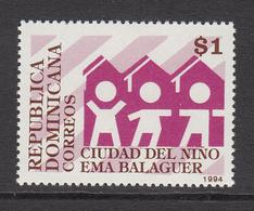 1994 Dominican Republic Dominicana City Of Children   Complete Set Of 1 MNH - Dominicaine (République)