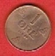 NORWAY  # 1 ØRE FRA 1934 - Norvège