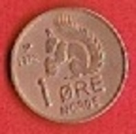 NORWAY  # 1 ØRE FRA 1972 - Norvège