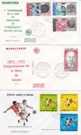 MAURITANIE FDC PREMIERS JOURS D EMISSION - Mauritanie (1960-...)