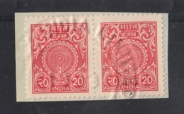 India  2000's   20 X 2   Revenue  Stamps  # 16733  D  Inde Indien - India
