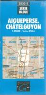Carte IGN Aigueperse Chatelguyon - Cartes Topographiques