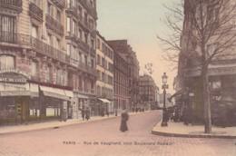PARIS RUE DE VAUGIRARD COIN BOULEVARD PASTEUR - Arrondissement: 15
