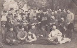 ALLEMAGNE NUREMBERG PRISONNIERS FRANCAIS CARTE PHOTO CACHET AU DOS - Guerre 1914-18
