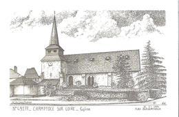 CHAMPTOCE SUR LOIRE. CP L'Eglise D'après Dessin Yves Ducourtioux - France