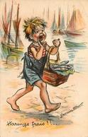 """Germaine BOURET - Illustrateur - """" Harengs Frais !! """" - Bouret, Germaine"""
