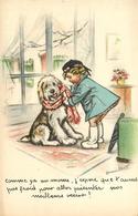 Germaine BOURET - Illustrateur - éditeur M.D. Paris N°32 - Chien Dog - Bouret, Germaine