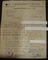 DH. 103. ATH. Attestation D'un Athois à La Participation De Sabotage à L'aide De Bombes En 1940-1945 Contre L'occupant - Documents