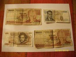 Lot De 7 Billets - Banknotes