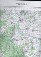 Vouziers Carte état Major1/50000 1956 RATM - Cartes Topographiques