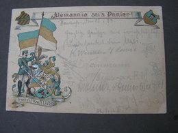 Haninchen Studentica Nach Alzenburg   1903 - Heimat