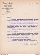 74 ST JULIEN EN GENEVOIS Haute Savoie Saint  COURRIER 1944  Fruits Légumes BRUNET Frères   - A57 - France
