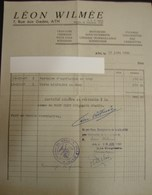 DH. 104. Facture De Dommages De Guerre Pour Des Vêtements Fourni Par Léon Wilmée à Ath Pendant La Seconde Guerre - Documents
