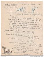 74 SAINT JULIEN EN GENEVOIS St COURRIER 192 Articles Ménage éclairage Charles GALETTI Pub  Pile WONDER Y15 Haute Savoie - France