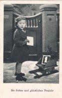 German Feldpost WW2: New Years Postcard From 3. Luftwaffen Bau Bataillon 8/XI In Lüneburg P/m 30.12.1940  (0048) - Militaria