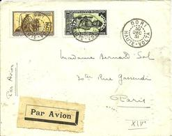 De DORI Avec N° 54 +62   - 1931 - - Upper Volta (1920-1932)