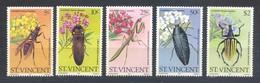 Saint-Vincent, Yvert 582/586, Scott 593/597, MNH - St.Vincent (1979-...)