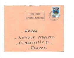 GABON LETTRE DE LIBREVILLE POUR LA FRANCE 1970 - Gabon (1960-...)
