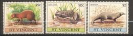 Saint-Vincent, Yvert 603/605, Scott 608/611, MNH - St.Vincent (1979-...)