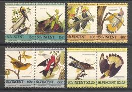 Saint-Vincent, Yvert 812/819, Scott 807a-b/810a-b, MNH - St.Vincent (1979-...)