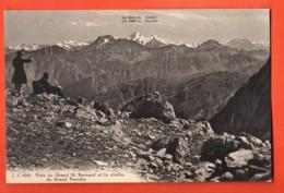 VAO-11 Près Du Grand Saint-Bernard,vue Sur La Chaine Du Gand Paradis,ANIME, Jullien 8949 Non Circulé - VS Valais
