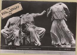 Sculptures - Cpa / Persephone, Demeter, Hebe. - Sculture