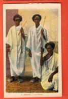 VAO-31 Djibouti Trio Somalis.  Circulé En 1935 Vers La Suisse - Somalia