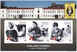 Australia 2017 Stampex '17 Adelaide Women In War Minisheet MNH - 2010-... Elizabeth II
