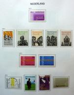 Netherlands/Pays Bas 1971-1993 In Davo Binder MNH/Postfris/Neuf Sans Charniere - Stamps