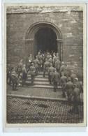 Soignies  Les Boches Pénétrant Dans L'église Le 21 Juillet 1918 ( Fanfare - Soldats Allemands ) - Soignies