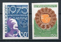 1975- DAHOMEY - WOMAN DAY- - LOT 2 VAL.IMPERF.  -M.N.H. -LUXE ! - Bénin – Dahomey (1960-...)