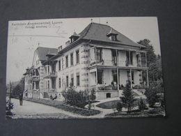 Luzern , Krankenanstalt 1918 - LU Luzern