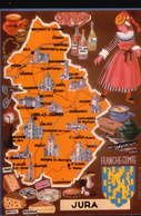 LOT245....27 CPSM CONTOURS DEPARTEMENTS Differentes - Cartes Postales