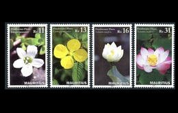Mauritius 2016 Freshwater Flora 4v MNH Stamps Complete Set - Maurice (1968-...)