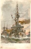 """The Fleet In The Far East"" Tuck ArtSeries PC # 1764 - Tuck, Raphael"
